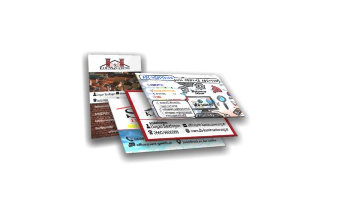 Visitenkarten Referenzen Abc Webdesign Neusiedl am See